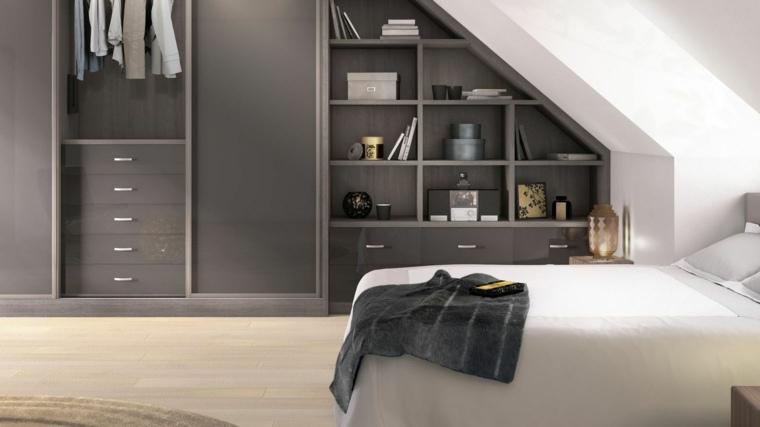 Armarios roperos y vestidores en el tico for Roperos para dormitorios