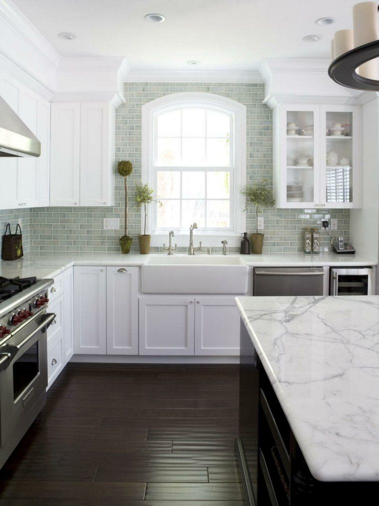 azulejos de cocina estilo color gris