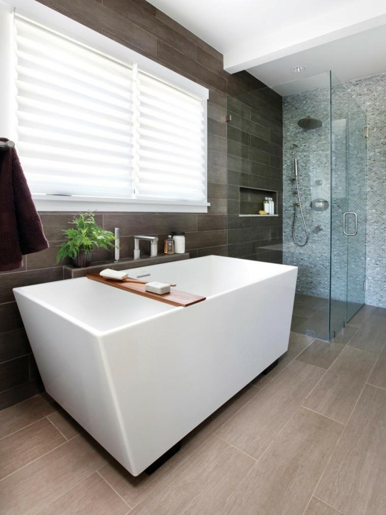 bañera elementos creativos paredes moderno