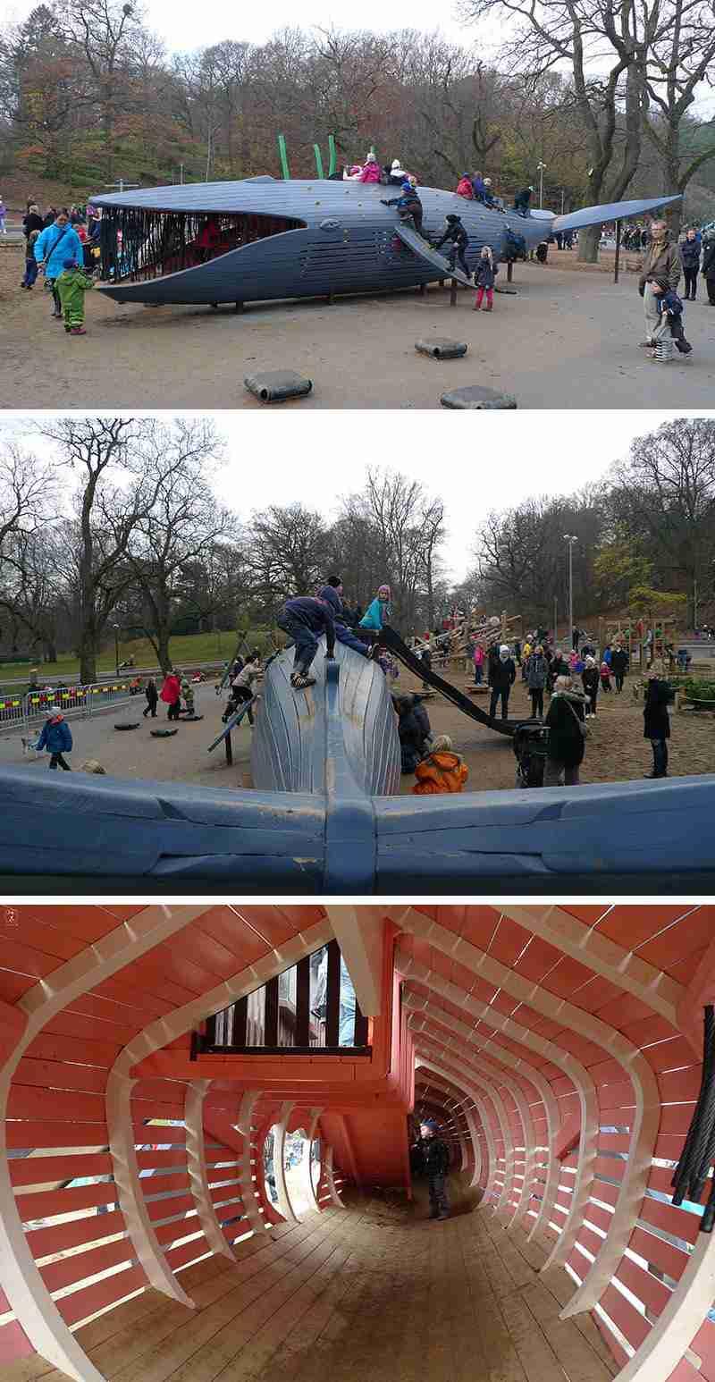 ballena grande parque juegos original