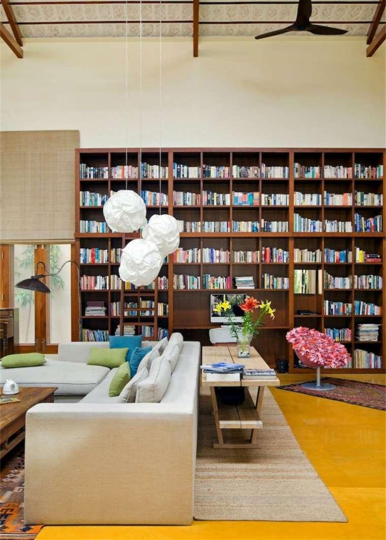biblioteca libreria diseno moderno Khosla Associates ideas