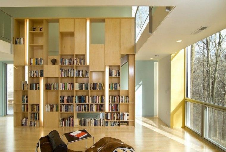 biblioteca libreria diseno moderno Kube Architecture ideas