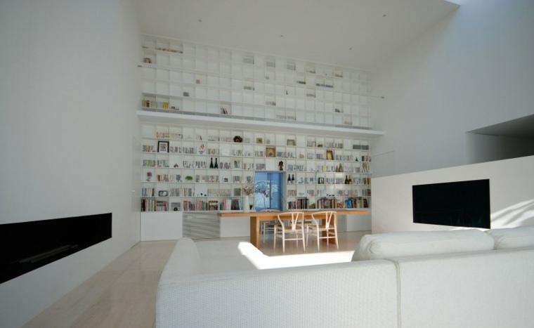 biblioteca libreria diseno moderno Shinichi Ogawa & Associates ideas