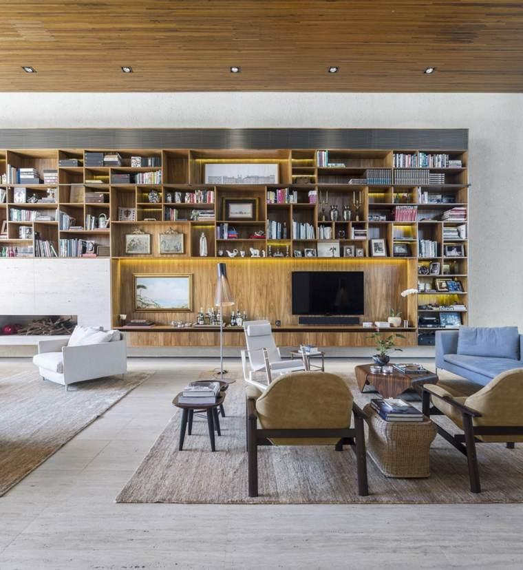 biblioteca libreria diseno moderno Studio MK27 ideas