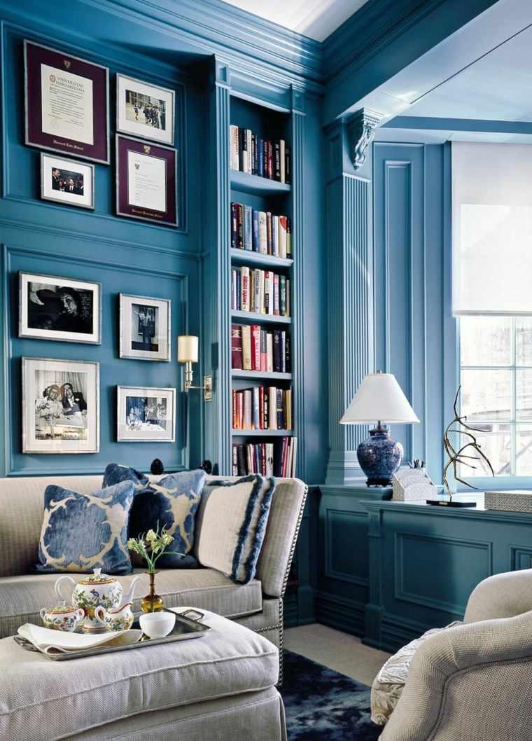 biblioteca libreria diseno moderno junto ventana ideas