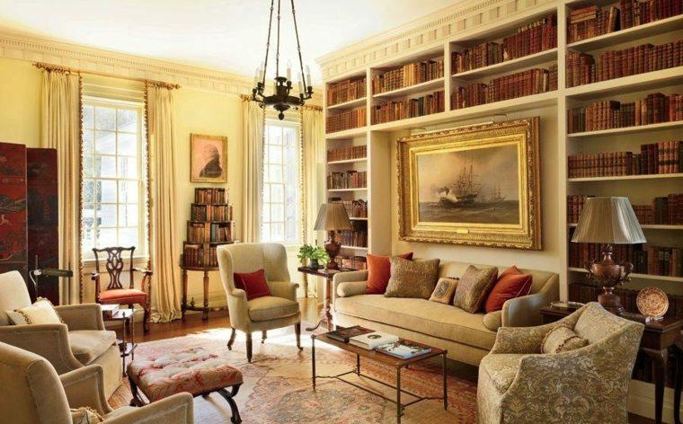 bibliotecas librerias disenos modernos casa elegante ideas