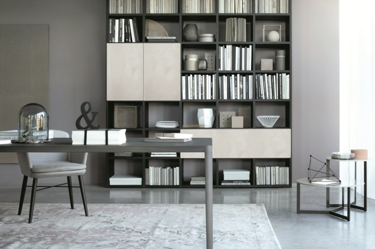 bibliotecas librerias disenos modernos decoraciones oficina ideas