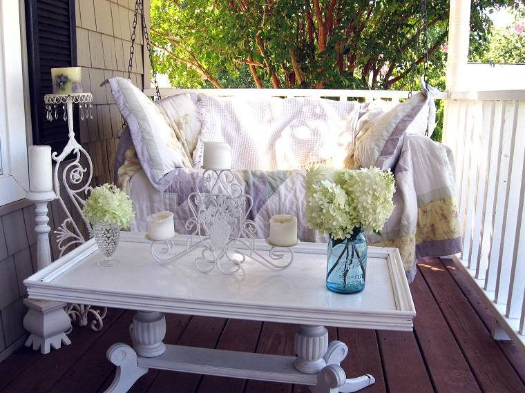 porches de ensueño muebles blanco especiales