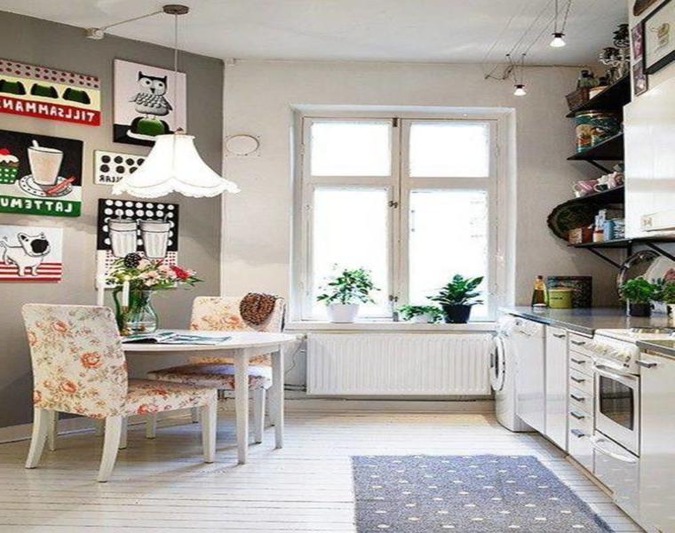 bonito diseño cocina pequeña