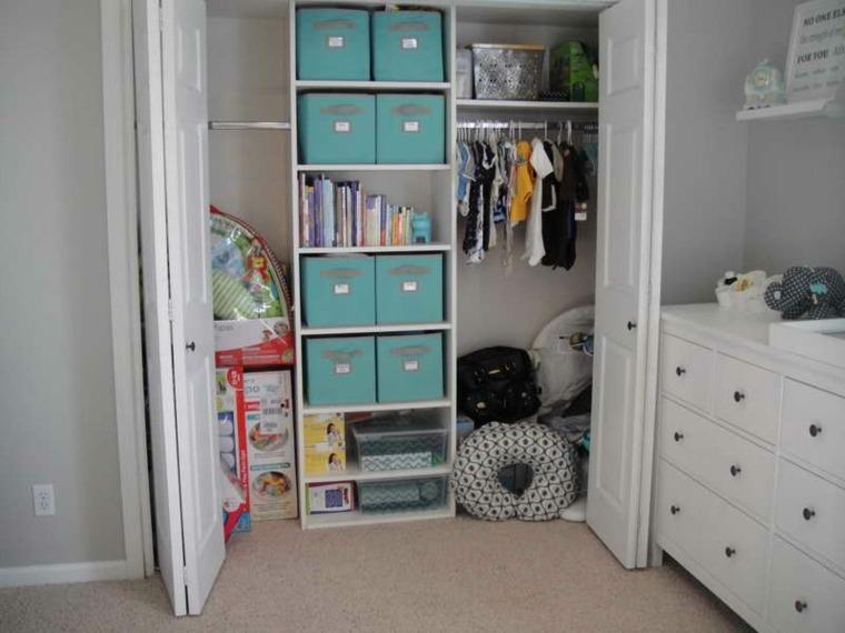 buena organizacion cajas armario