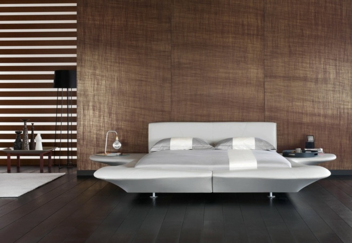 cama blanco efectivos salones ideas modernos