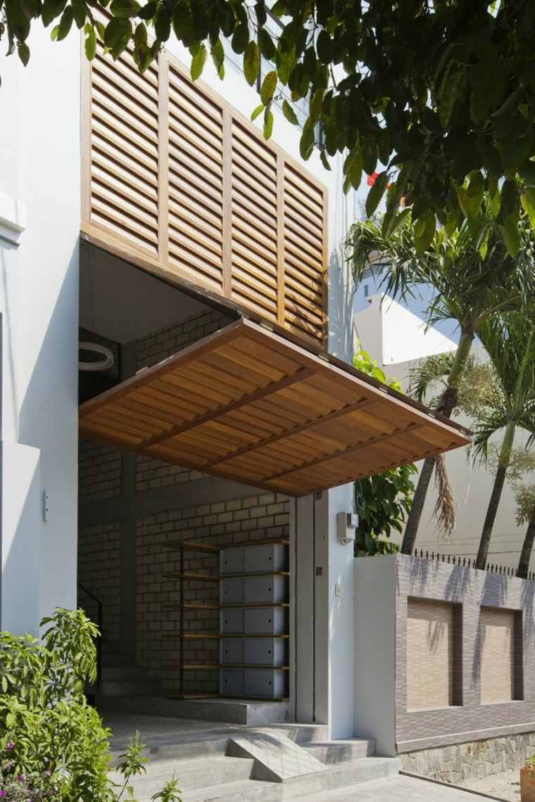 casa ciudad persianas modernas MM architects ideas