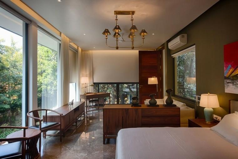 casas diseno Bhopal India hogar dormitorio cama grande ideas