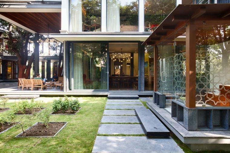 casas de diseño - una casa moderna en bhopal, india -