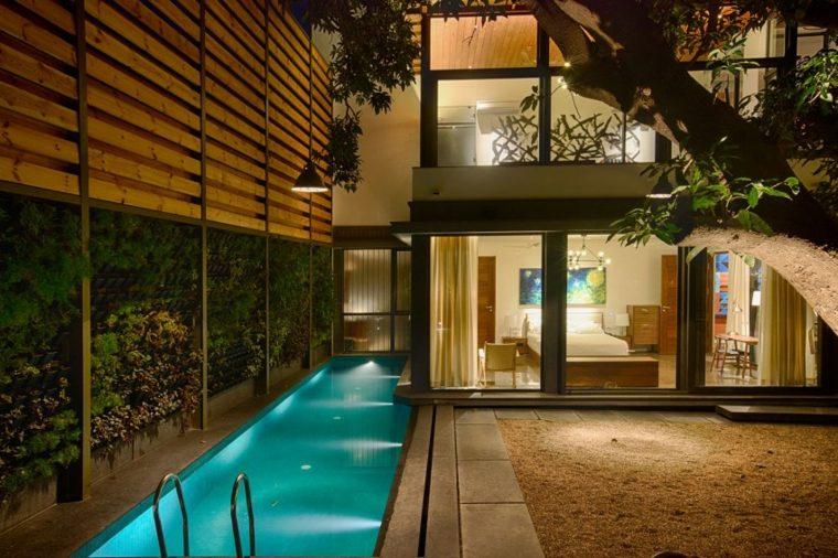 casas de diseno Bhopal India jardin casa piscina ideas