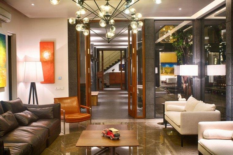 casas diseno Bhopal India salon moderno ideas