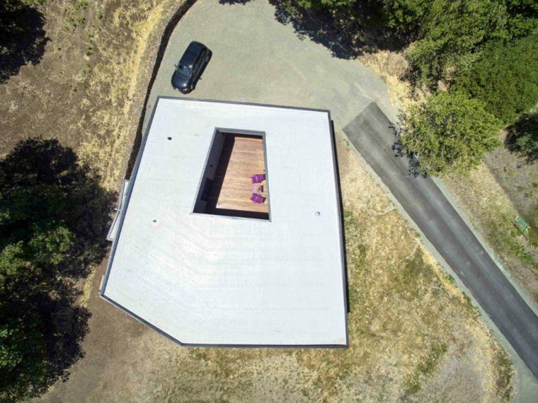 casas de lujo techos planos diseno Schwartz Architecture ideas