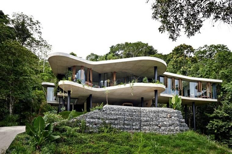 casas de lujo techos planos disenada Jesse Bennett ideas