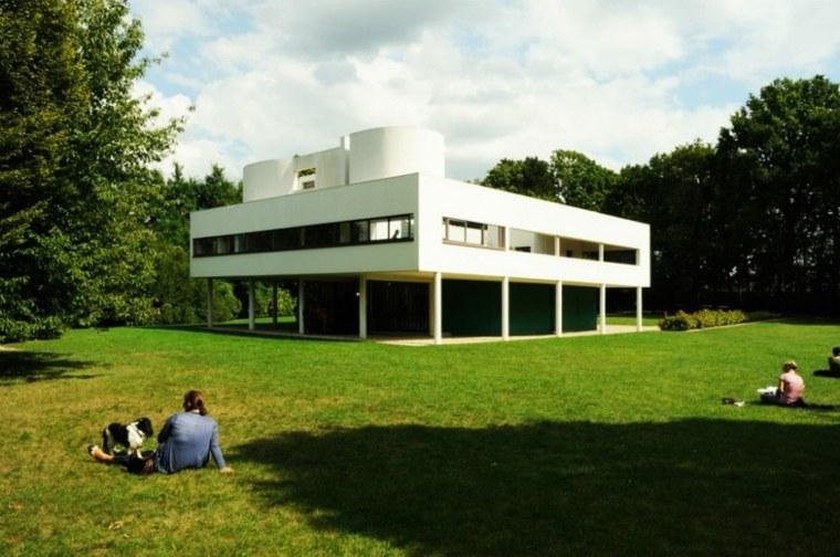 casas de lujo techos planos disnada Le Corbusier ideas