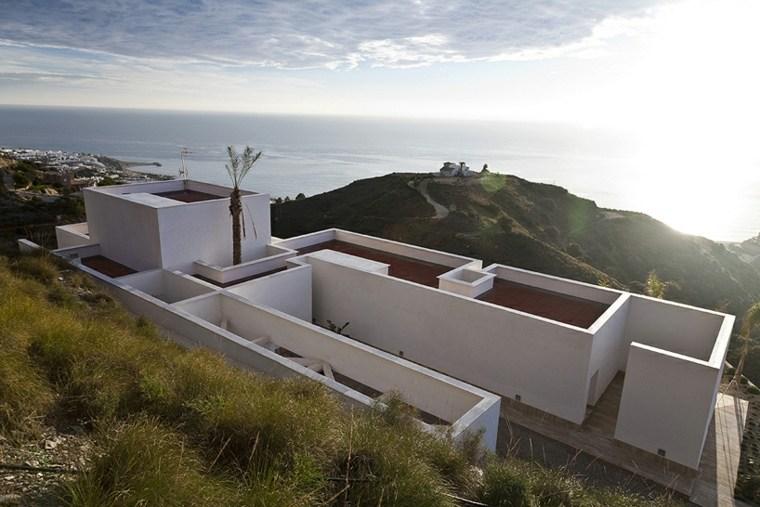 casas de lujo techos planos disenada MVN Arquitectos ideas