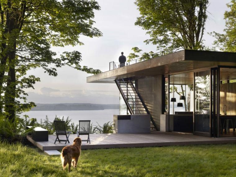 casas de lujo techos planos disenada MW Works ideas
