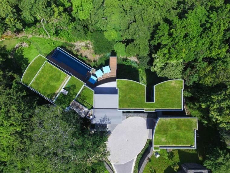 Casas De Lujo Con Techos Planos 18 Diseños Originales