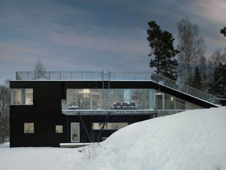 casas lujo techos planos disenada architects ideas