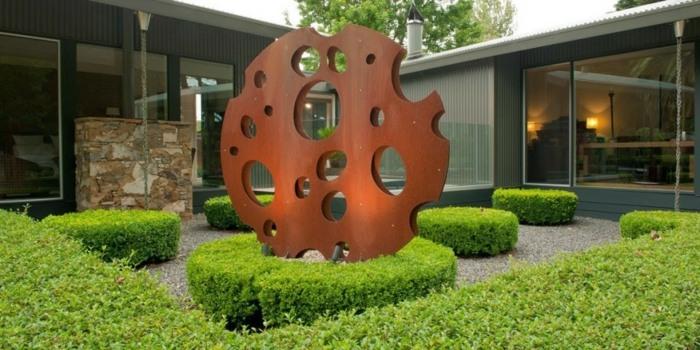 centro esculturas muebles comedores materiales