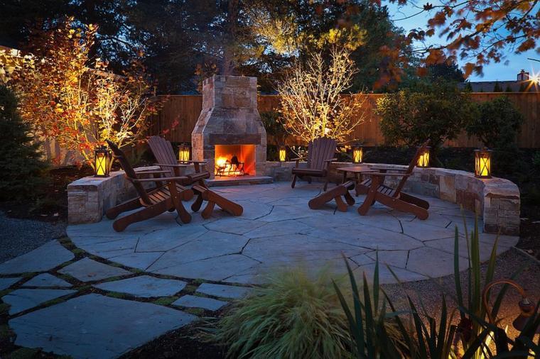 chimeneas sillones maderas especiales fuego