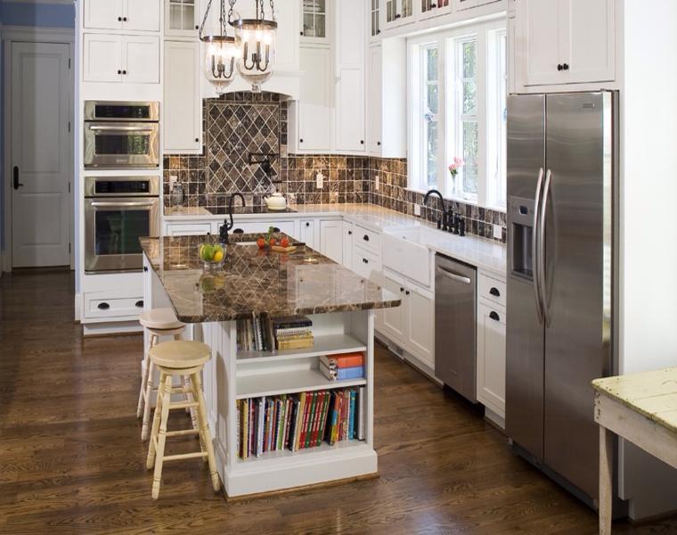 Cocinas en ele cocina en forma de u cocina cocinas for Cocinas en ele