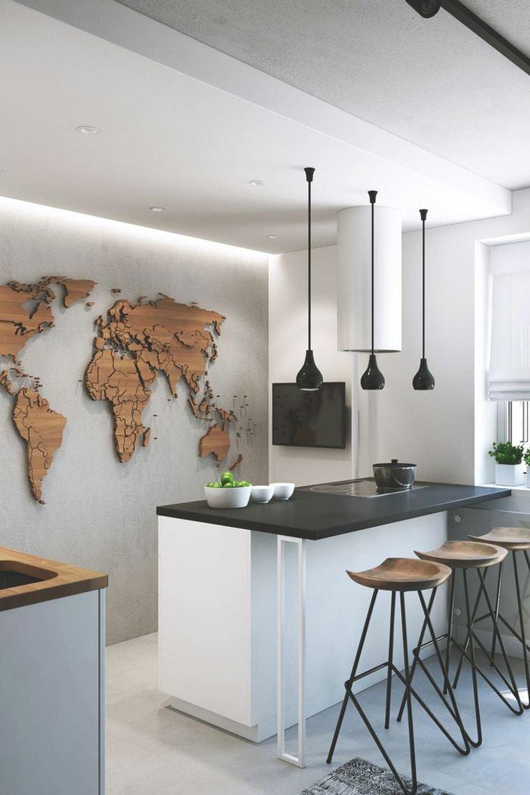 cocina creativa diseno detalles decoracion pared ideas