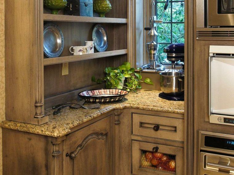 cocina pequeña horno integrado