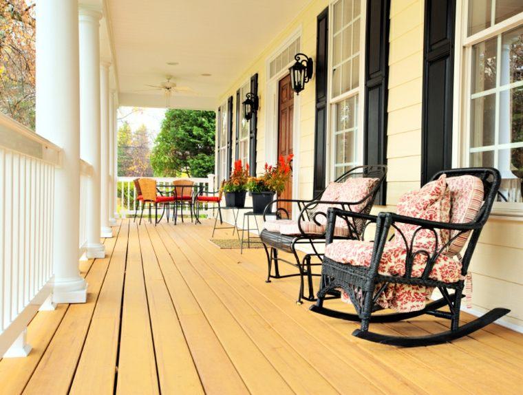 suelo madera estilos colores muebles