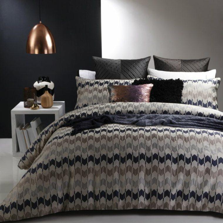 color negro dormitoio moderno dieño