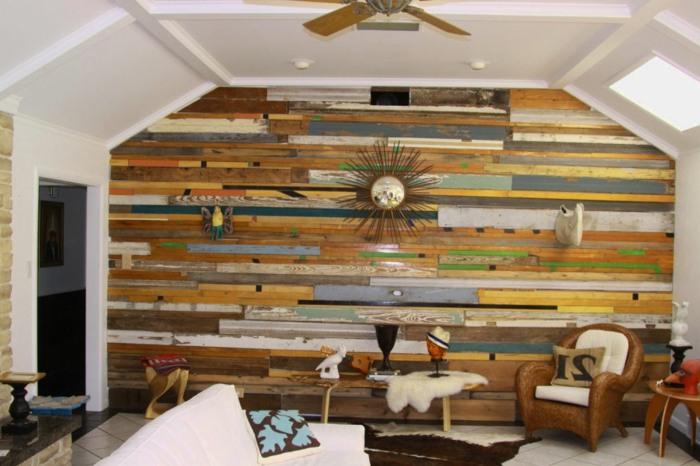 La madera en la decoraci n de paredes dise os incre bles - Madera para paredes ...