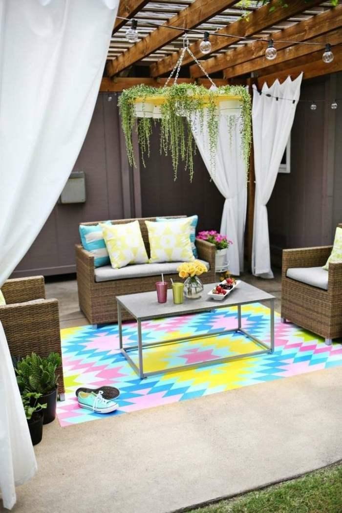 coloridos ideas conceptos muebles pergola