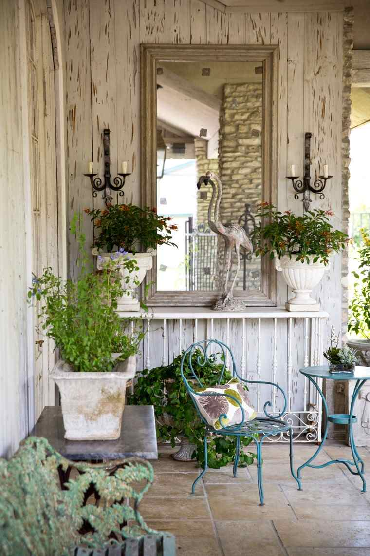 C mo decorar mi terraza ideas y consejos for Terrazas vintage