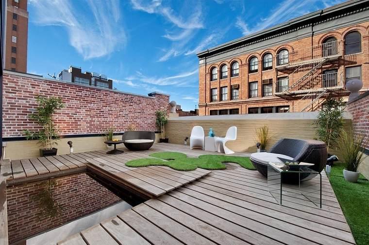 como decorar terraza opciones originales diseno contemporaneo ideas