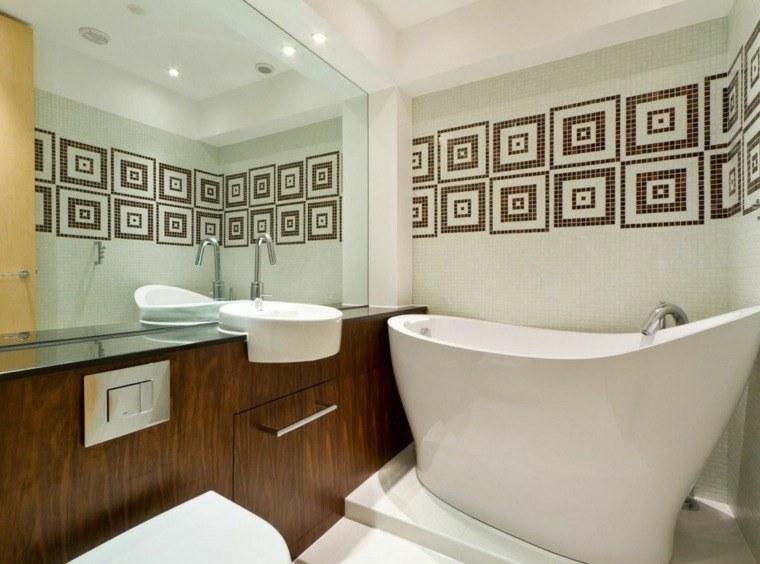 Cuartos de baño pequeños con diseños sensacionales -