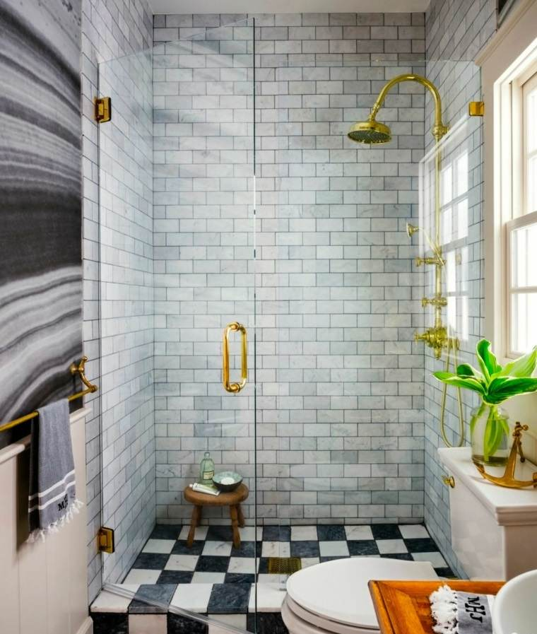 Baño Pequeno Vintage:Cuartos de baño pequeños con diseños sensacionales -