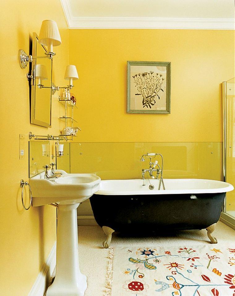 Baños Amarillos Pequenos:Cuartos de baño pequeños con diseños sensacionales -