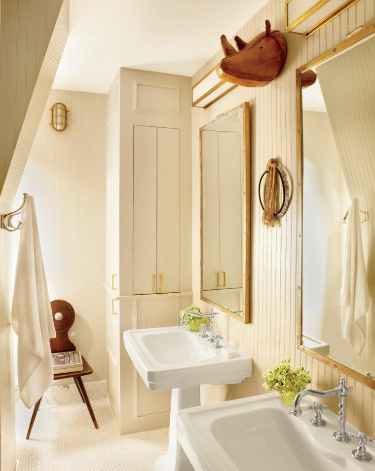 Cuartos de ba o peque os con dise os sensacionales Diseno lavabos pequenos