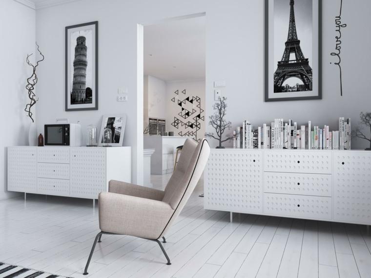 Decoraci n estilo n rdico e ideas de muebles for Muebles diseno nordico