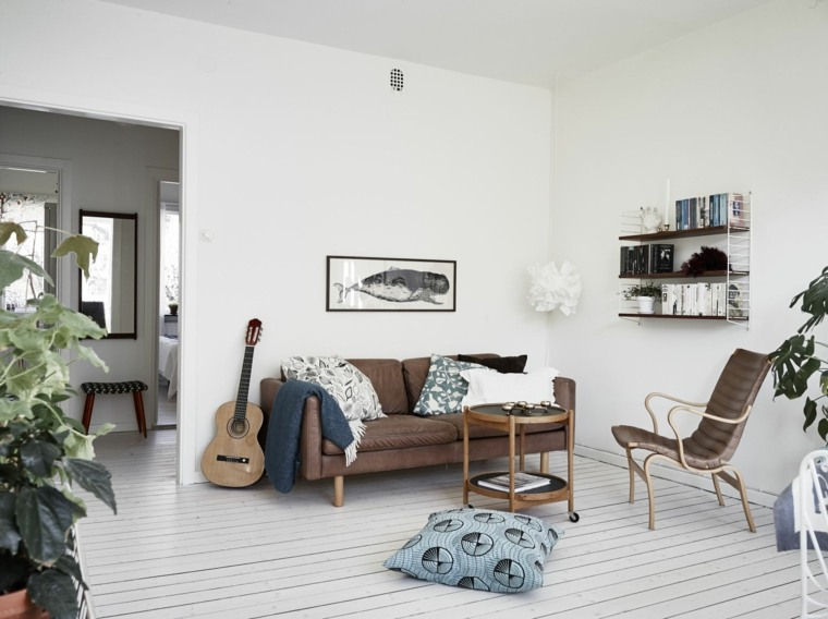 Decoracion Estilo Nordico Salon Diseno Moderno Ideas