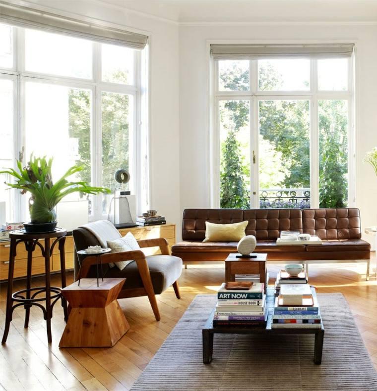 decoracion estilo vintage diseno salon luminoso ideas