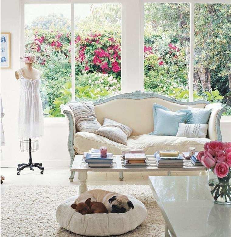 Decoraci n estilo vintage para la casa moderna - Cortinas estilo vintage ...