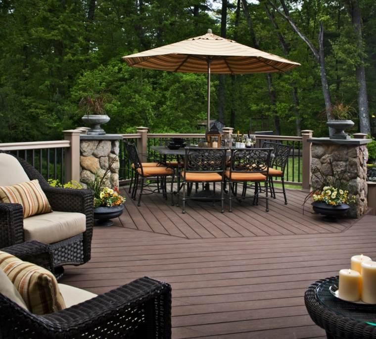 Decoracion exterior ideas para dise os funcionales y frescos - Cojines exterior ...