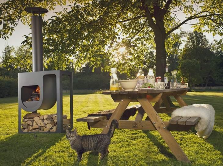 decoracion fuego comedores exteriores funcionales exteriores