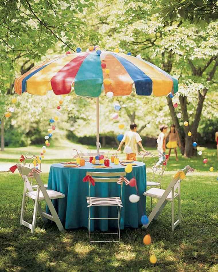 Ideas para cumplea os de adultos y consejos interesantes - Decorar mesas de jardin ...