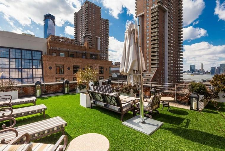 Decoraci n terraza tico y m s opciones de dise o for Penthouses for sale in manhattan
